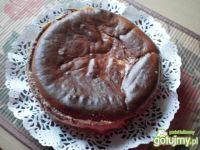 Sernik kakaowo-pomarańczowy