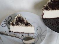 Sernik na zimno z chałwą i likierem czekoladowym