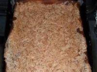 Sernik pod pianką z białek