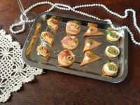 Serowe ciasteczka bankietowe