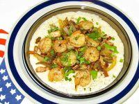 Shrimp and grits - danie amerykańskie