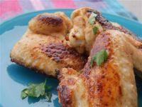 Skrzydełka kurczaka w marynacie burrito