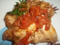 Skrzydełka z kurczaka w pomidorach