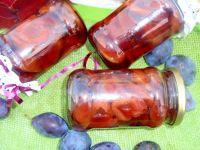 Śliwki w occie z cynamonem