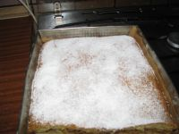 Smaczny domowy jabłecznik