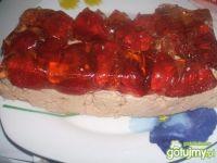 Śmietanowo-truskawkowe