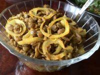 Soczewica w ostrym sosie