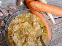 Sojowe flaczki wegetariańskie