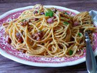 Spaghetti a'la carbonara