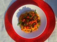 Spaghetti  all`Amatriciana wersja rzymska