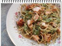 Spaghetti Eli z łososiem