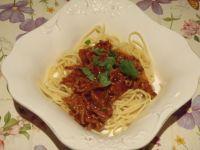 Spaghetti - podstawowe z mięsem mielonym
