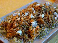 Spaghetti z dynią i sezamem