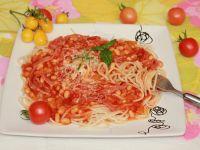 Spaghetti z fasolą