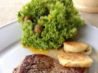Stek delikatnie grilowany