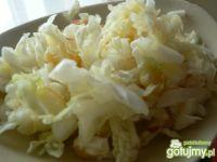 Surówka z kapusty pekińskiej z kukurydzą