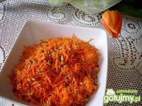 Surówka z marchewki i słonecznika