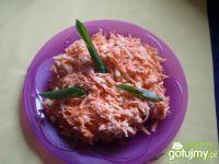 Surówka z marchewki z chrzanem 4
