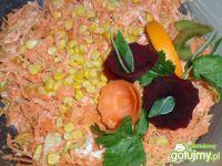 Surówka z marchewki z mandarynką