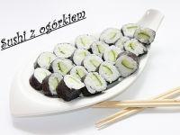 Sushi z ogórkiem zielonym