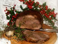 Świąteczna pieczeń doprawiana piernikiem