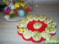 Świąteczne jajka faszerowane