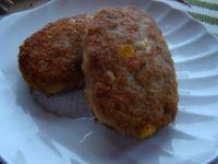 Sznycelki drobiowo- wieprzowe z kukurydzą