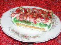 Szybkie ciasto z poziomkami