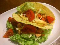 Taco z indykiem i pomidorem