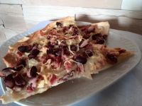 Tarte flambée  (Flammkuchen), czyli prawie pizza