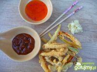 Tempura z warzyw i pieczarek