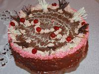 Tort królewski z kajmakiem
