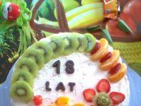 Tort na 18-te urodziny