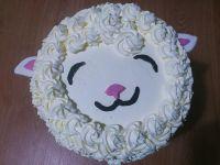 Tort śliczna owieczka