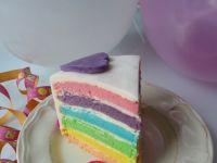 Tort tęczowy (nie tylko dla dzieci)