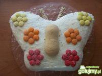 Tort w kształcie motyla