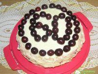 Tort wiśniowy na 60 urodziny