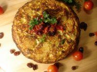 Tortilla  z suszonymi pomidorami i żurawiną