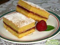 Ubogie ciasto z powidłami