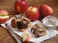 Ucierane z jabłkami
