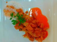 Udka w czerwonym curry z morelami