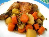 Udka z kurczaka z jarzynami