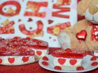 Walentynkowy sernik na zimno