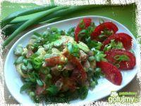 Warzywa z patelni z szynką szwarcwaldzką