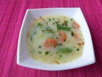 Warzywna zupa z fasolką szparagową