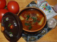 Węgierska zupa gulaszowa - gulyasleves