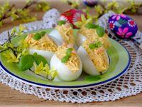 Wielkanocne jajka z łososiem