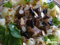 Wieprzowina w sosie śliwkowym