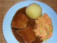 Wieprzowina z chrzanową marchewką