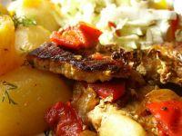 Wieprzowina z ziemniakami z szybkowara